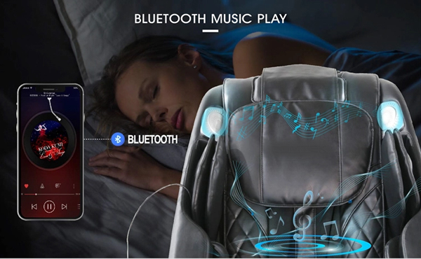 Everest Massage Chair with Bluetooth