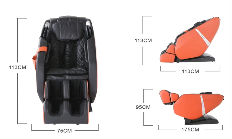 Everest massage chair dimensions