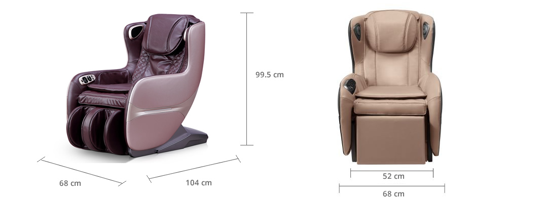 Dimensions of Komoder JOY Massage Chair