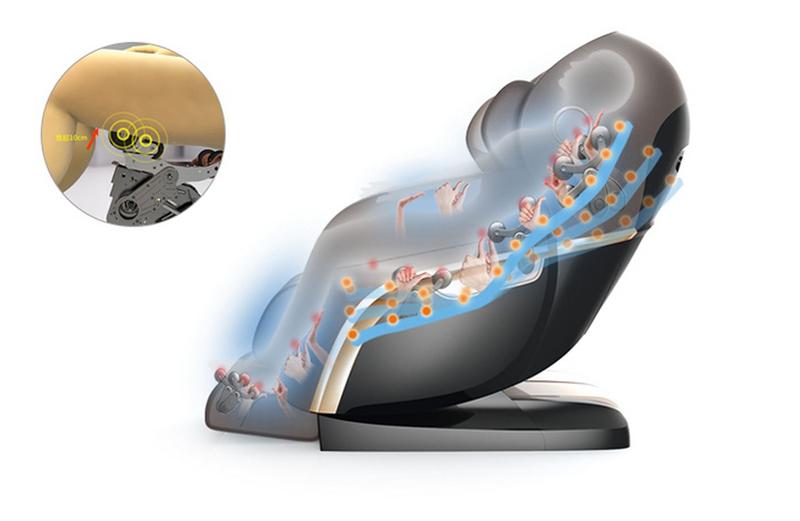 Rokol RK 8900 L Shape 4D Imperial Massage Chair