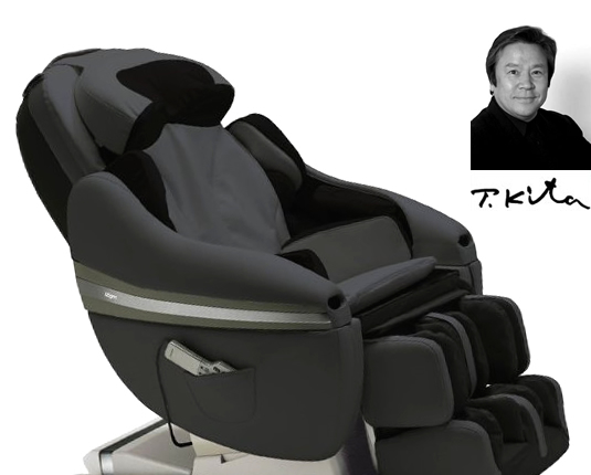 Grey Slate massage chair Inada DreamWave