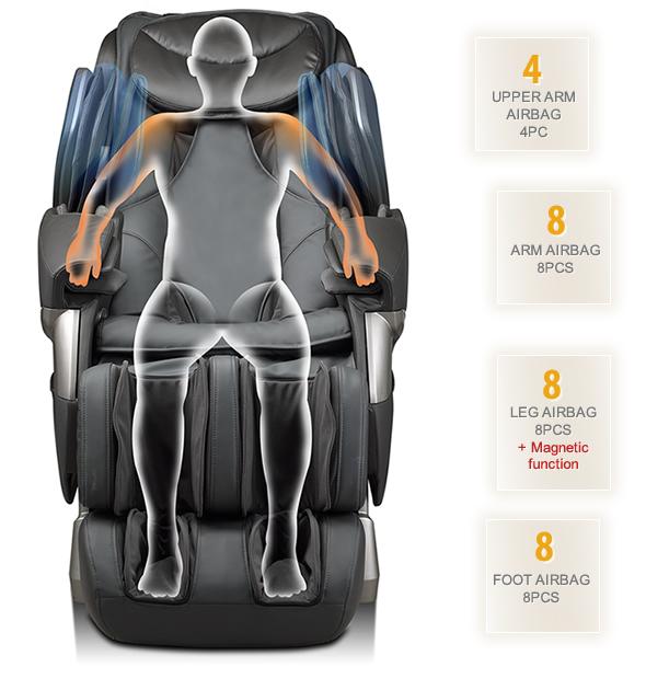 массажное кресло ирест A385