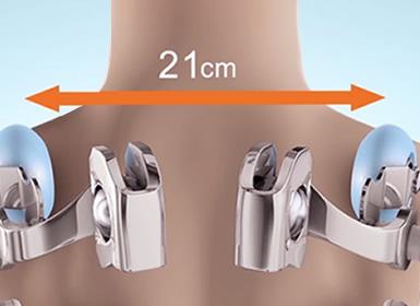 Back width adjustment