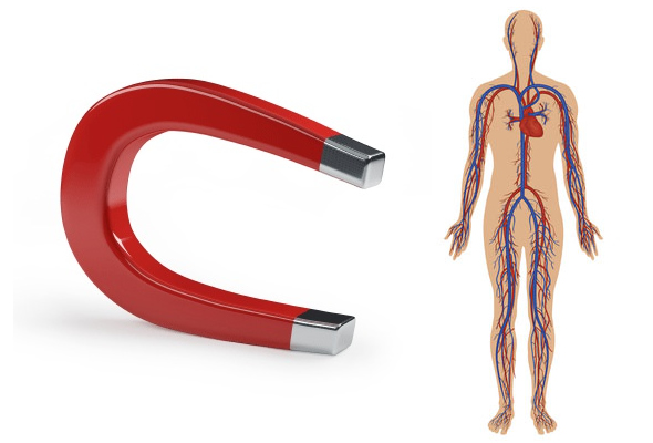 Magnet therapy function
