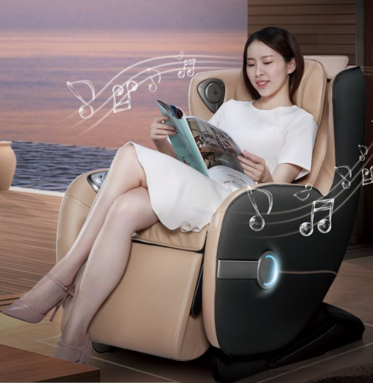 bluetooth massage chair