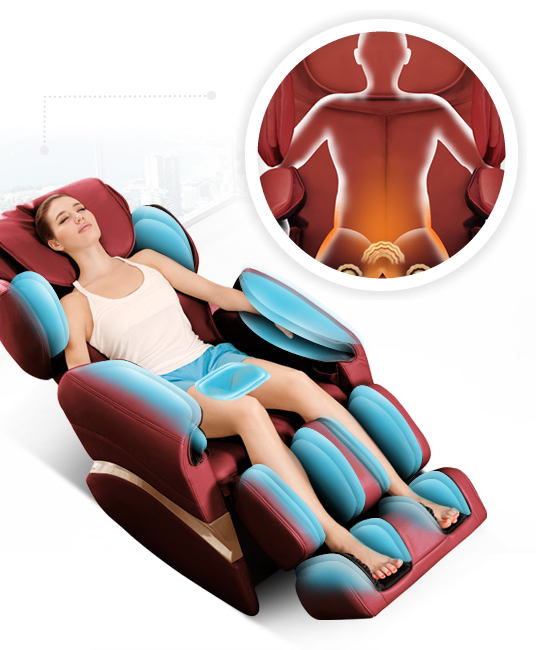 Komoder KM350S Therapeutic Massage Chair