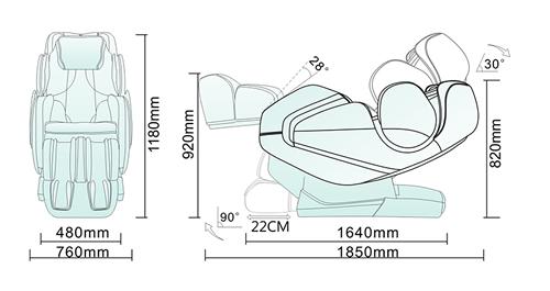 Komoder KM420 Dimensions