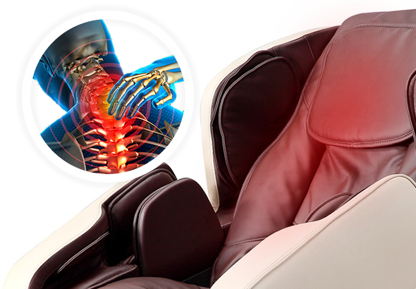 back heating for Komoder KM500L Massage Chair