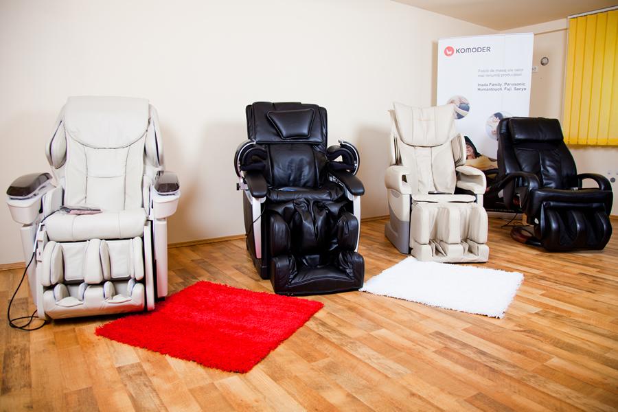 Komoder Massage Chairs Showroom