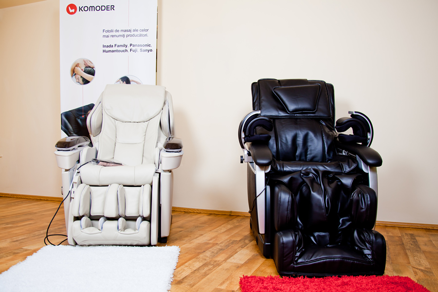 Our Massage Chairs Showroom
